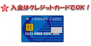verajohnクレジットカード入金