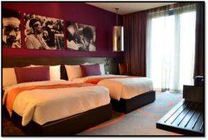 ハードロックホテル客室