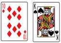ブラックジャック_カード10&K