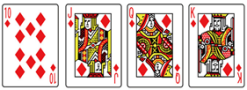 ブラックジャック_カード10~K