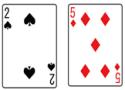 ブラックジャック_カード2&5