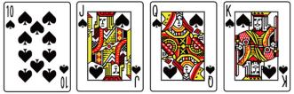バカラのカードの数え方2