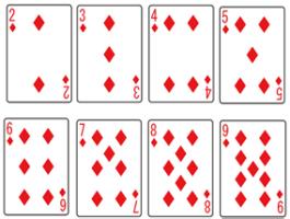 ブラックジャック_カード2~9