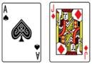 ブラックジャック_カードA&J